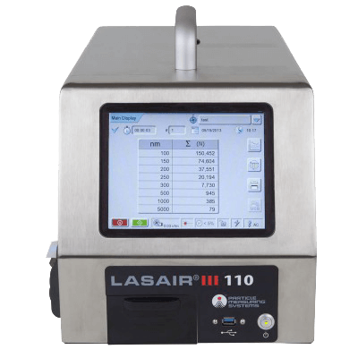 .1 micron particle counter: Lasair III 110