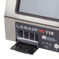 .1 micron particle counter: Lasair III 110 Back