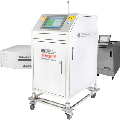 AMC Monitor AirSentry II Mobile System from Particle Measuring Systems