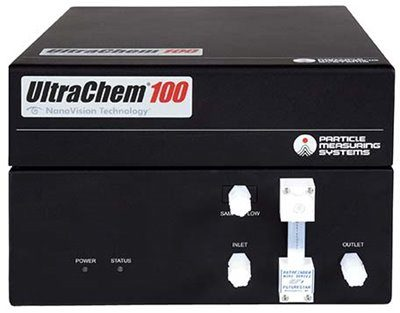 liquid particle counter Ultra Chem 100 by Particle Measuring Systems