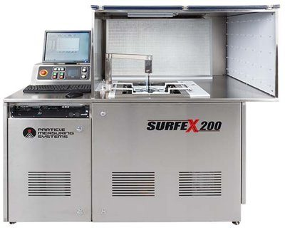 Parts Cleanliness testing station Surfex