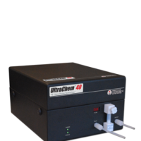 Chemical particle counter to 40 nm