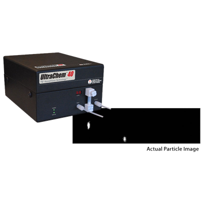 Particle Measuring Systems' 40 nm Ultrachem chemical particle counter
