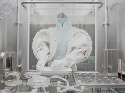 cleanroom microbial monitor BioCapt Single Use