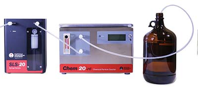 Batch Sampler with 20 nm chemical particle counter