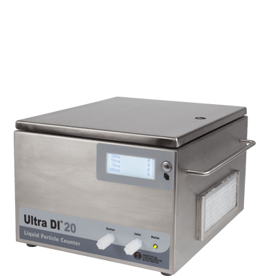 DI water particle counter 20 nm
