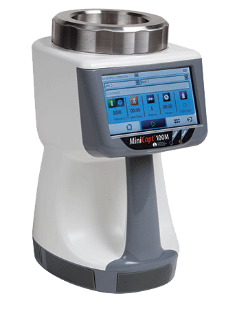 MiniCapt® Mobile Microbial Air Sampler by Particle Measuring Systems (PMS)