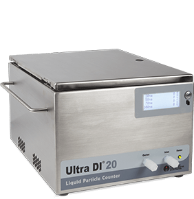 Liquid Particle Counting with the UDI 20