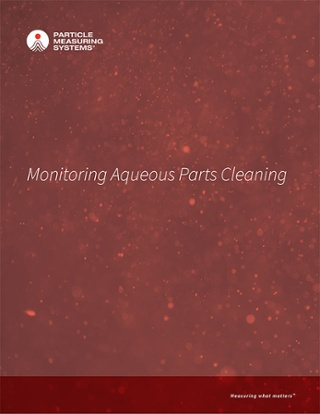 Monitoring Aqueous Parts Cleaning