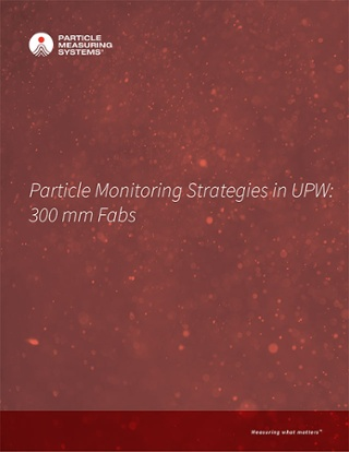 Particle Monitoring Strategies in UPW: 300 mm Fabs