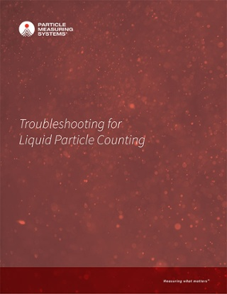 Troubleshooting for Liquid Particle Counting
