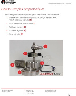 MiniCapt®便携式与压缩气体取样指南