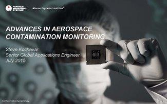 Advances in aerospace contamination monitoring