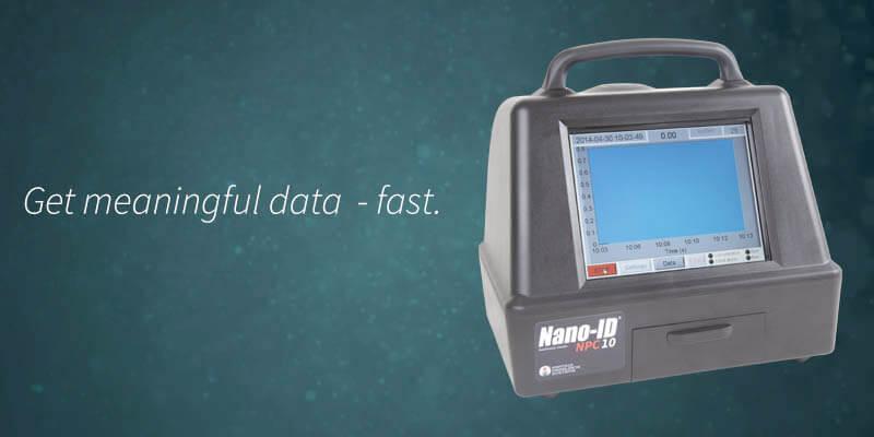 Product focus: NanoID® NPC10 NanoParticle Counter