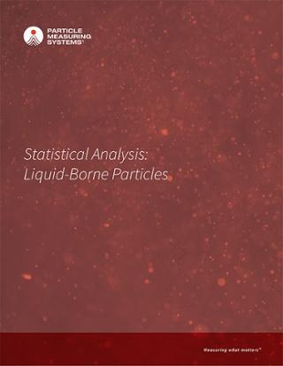 统计分析:以液体传播的粒子