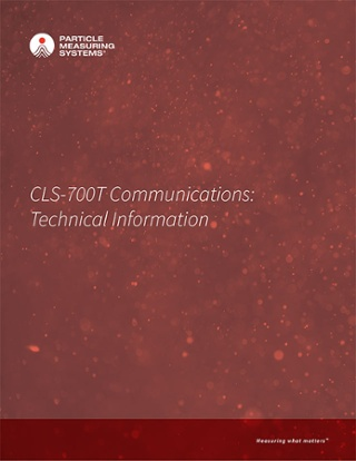 CLS-700T Communications: Technical Information