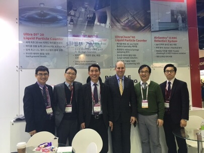 Particle Measuring Systems at SEMICON Korea 2016