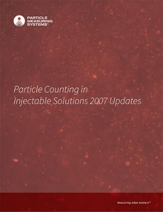 可注射物的粒子计数解决方案