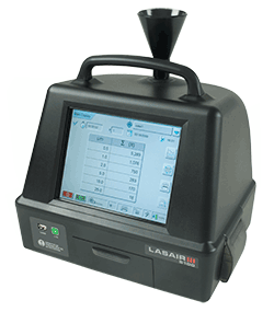 Lasair III particle counter for Helme Drum applicaitons
