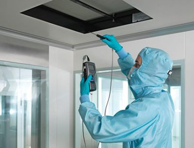 Cleanroom Certification, Cleanroom Qualification & More from CAS Clean air services, part of Particle Measuring Systems
