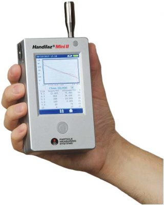 Handilaz Mini II Handheld aerosol particle counter