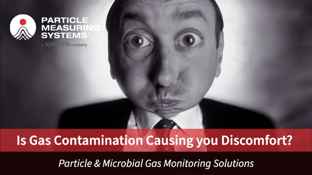 microbial compressed gas monitoring from Particle Measuring Systems (PMS)