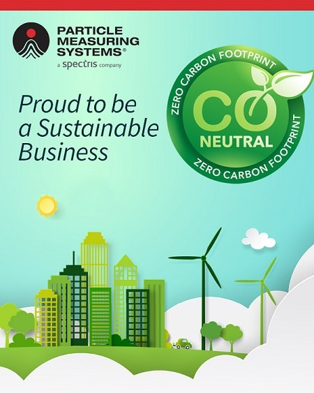 sustainability net zero particle measuring systems